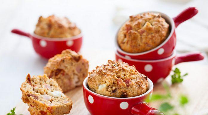 Leckere Häppchen: Schinken-Käse-Muffins