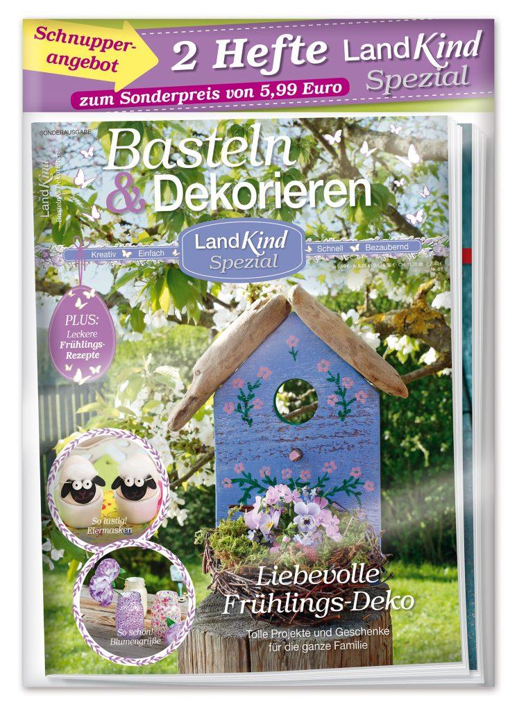 Unsere Frühlings-Ausgabe von LandKind-Spezial erscheint im Bundle: Erhalten Sie eine zweite Ausgabe on top!